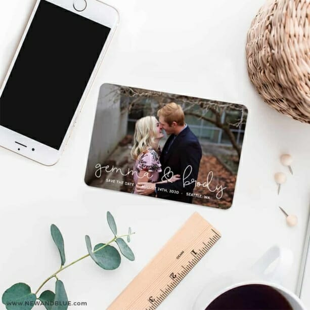 So In Love 7 Wedding Save The Date Magnets