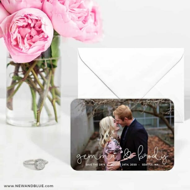 So In Love 6 Wedding Save The Date Magnets