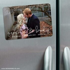 So In Love 3 Refrigerator Save The Date Magnets