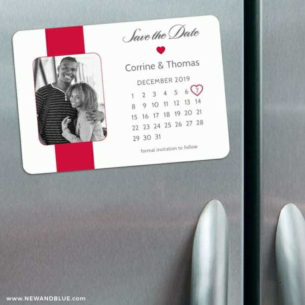 All You Need Is Love Nb1 3 Refrigerator Save The Date Magnets