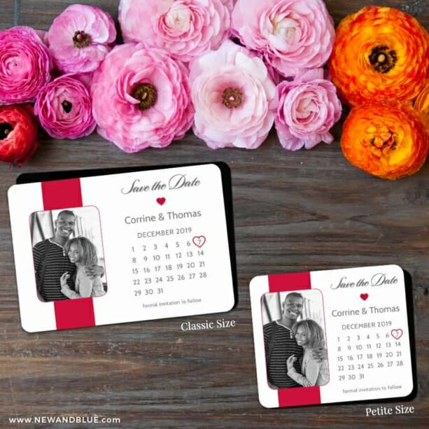 All You Need Is Love Nb1 2 Save The Date Magnet Classic And Petite Size
