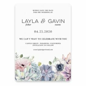 Botanical Nb Save The Date