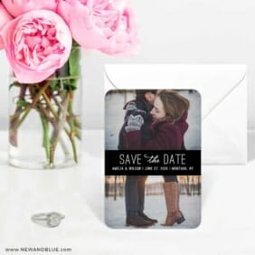 Montauk Nb 6 Wedding Save The Date Magnets