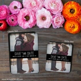 Montauk Nb 2 Save The Date Magnet Classic And Petite Size
