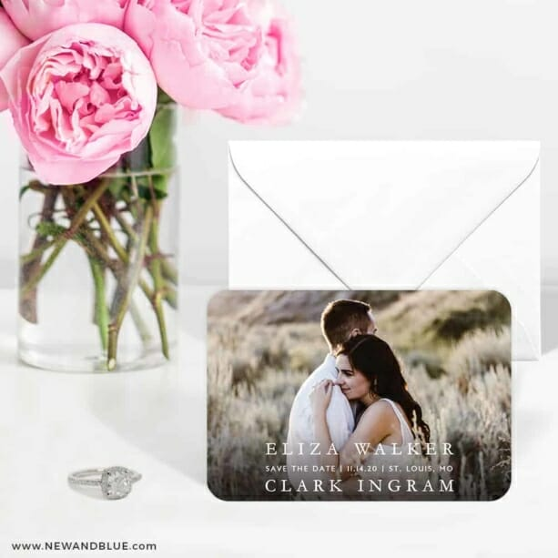 Only You Nb 1 6 Wedding Save The Date Magnets