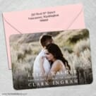 Only You Nb 1 5 Save The Date With Optional Color Envelope