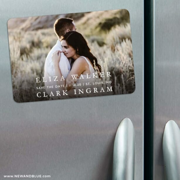 Only You Nb 1 3 Refrigerator Save The Date Magnets