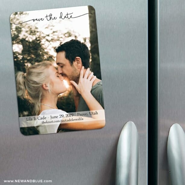 Twirl Nb 1 3 Refrigerator Save The Date Magnets