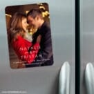 Look Of Love 3 Refrigerator Save The Date Magnets