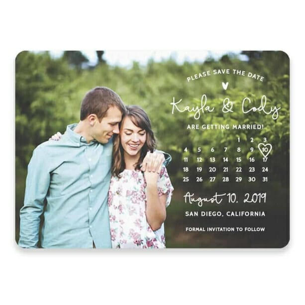 Charming Calendar Nb Save The Date