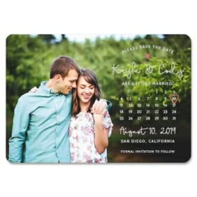 Charming Calendar Nb1 1 Save The Date Magnets