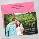 Charming Calendar Nb1 5 Save The Date With Optional Color Envelope