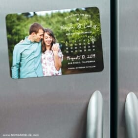 Charming Calendar Nb1 3 Refrigerator Save The Date Magnets