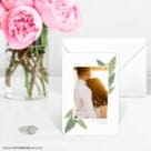 Framed In Ferns 6 Wedding Save The Date Magnets