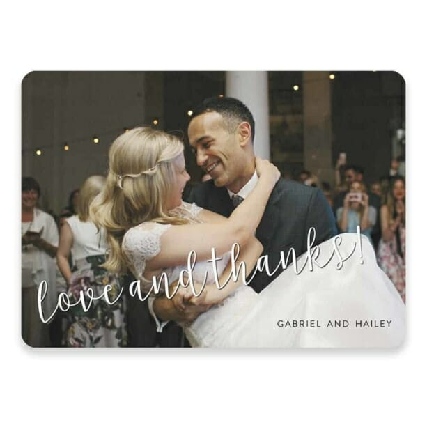 Love And Thanks Save The Date