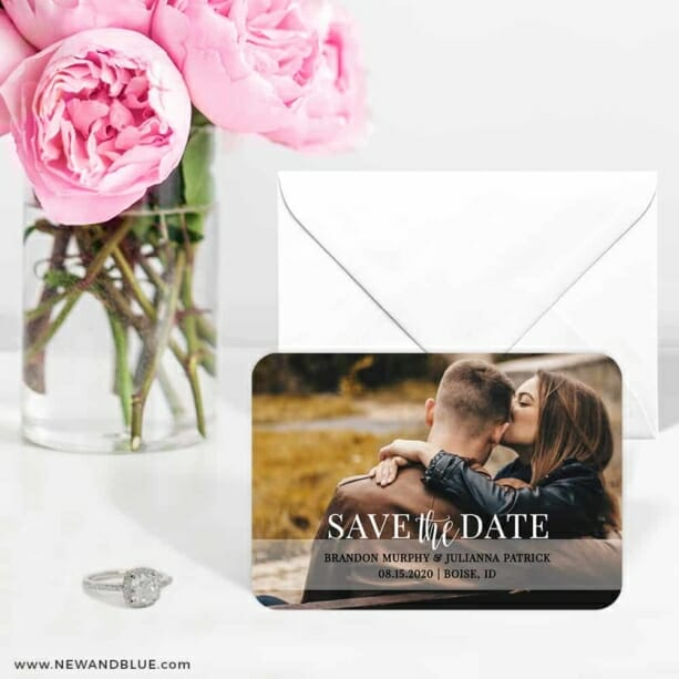 Lasting Love 6 Wedding Save The Date Magnets