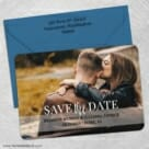 Lasting Love 5 Save The Date With Optional Color Envelope