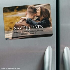 Lasting Love 3 Refrigerator Save The Date Magnets