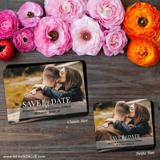 Lasting Love 2 Save The Date Magnet Classic And Petite Size