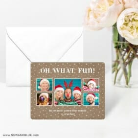 Oh What Fun 4 Wedding Save The Date Magnets
