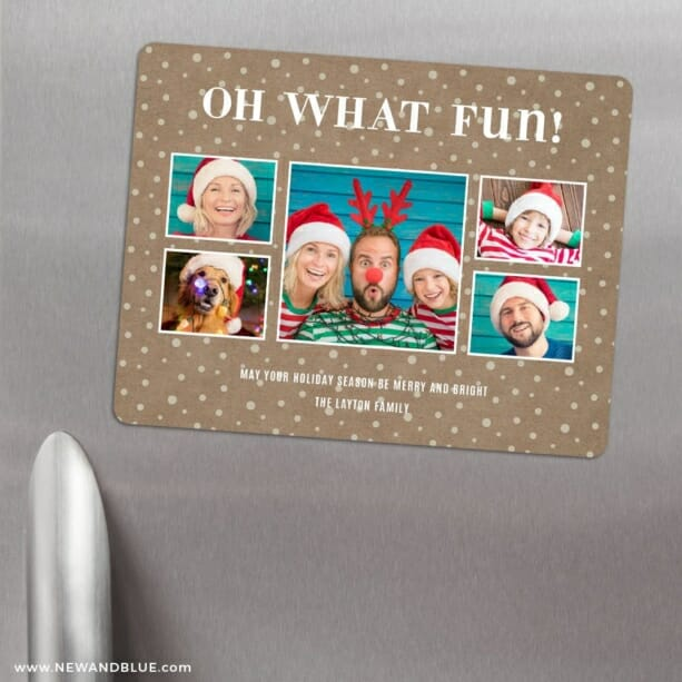 Oh What Fun 3 Refrigerator Save The Date Magnets