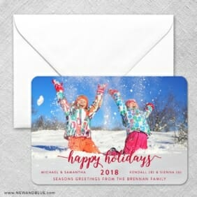 Handwriting Holiday Classic Size