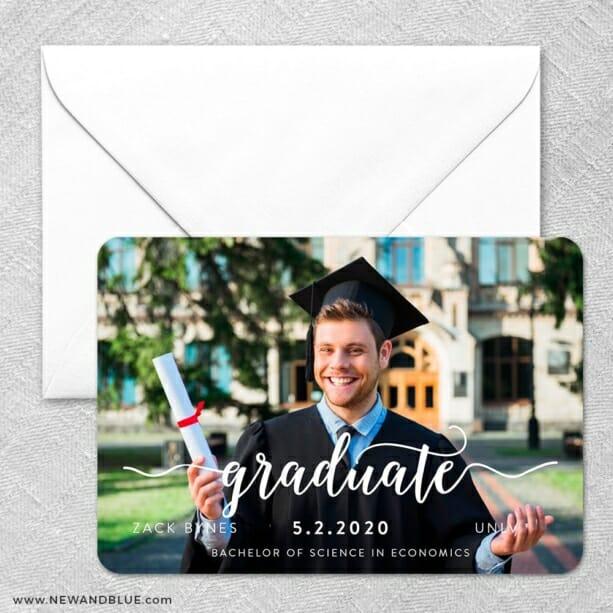 Handwriting Graduation Classic Size