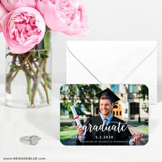Handwriting Graduation 6 Wedding Save The Date Magnets