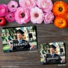 Handwriting Graduation 2 Save The Date Magnet Classic And Petite Size