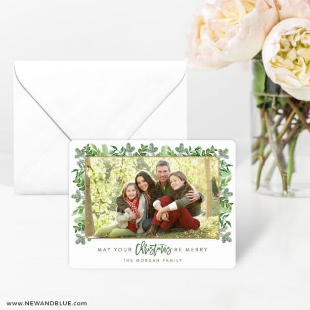 Festive Frame 4 Wedding Save The Date Magnets