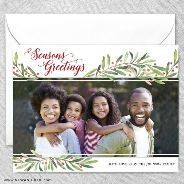 Garland Greetings2 Grande Size Save The Date Magnet