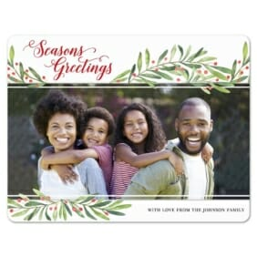 Garland Greetings 1 Save The Date Magnets