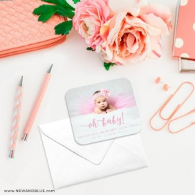Handwriting Baby 4 Petite Size Magnet