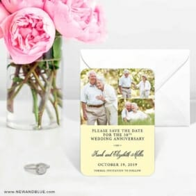Golden Years Nb 6 Wedding Save The Date Magnets
