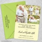 Golden Years Nb 5 Save The Date With Optional Color Envelope