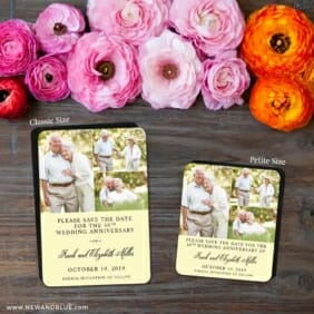 Golden Years Nb 2 Save The Date Magnet Classic And Petite Size