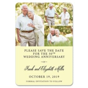 Golden Years Nb 1 Save The Date Magnets