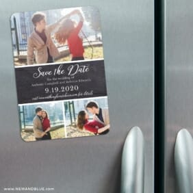 Union Square Wedding 3 Refrigerator Save The Date Magnets