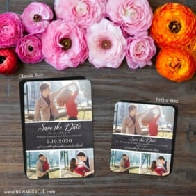 Union Square Wedding 2 Save The Date Magnet Classic And Petite Size