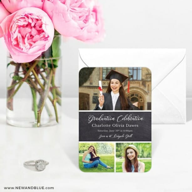 Union Square Graduation 6 Wedding Save The Date Magnets