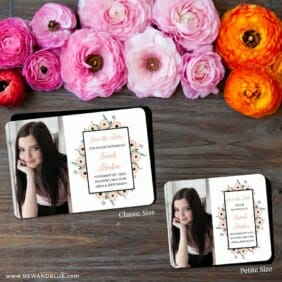 Flower Bat Mitzvah Nb 2 Save The Date Magnet Classic And Petite Size