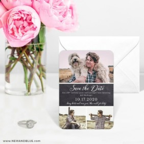 Union Square Birthday 6 Wedding Save The Date Magnets
