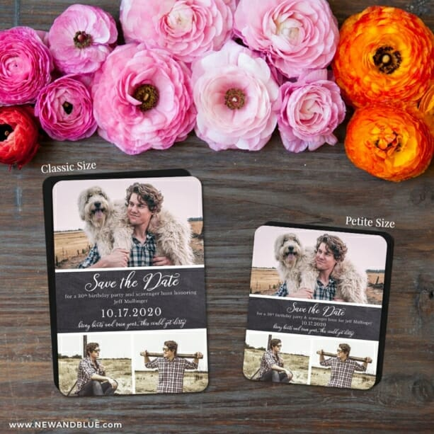 Union Square Birthday 2 Save The Date Magnet Classic And Petite Size