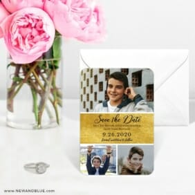 Union Square Bar Mitzvah 6 Wedding Save The Date Magnets