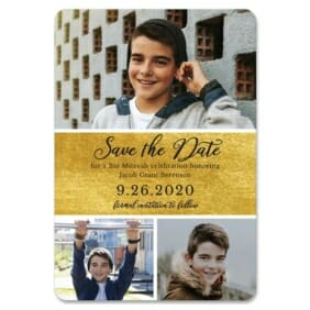 Union Square Bar Mitzvah 1 Save The Date Magnets