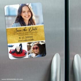 Union Square Bat Mitzvah 3 Refrigerator Save The Date Magnets