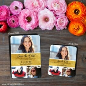 Union Square Bat Mitzvah 2 Save The Date Magnet Classic And Petite Size