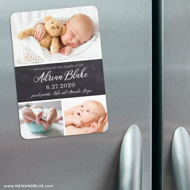Union Square Baby 3 Refrigerator Save The Date Magnets
