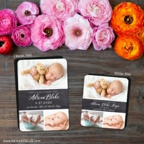 Union Square Baby 2 Save The Date Magnet Classic And Petite Size