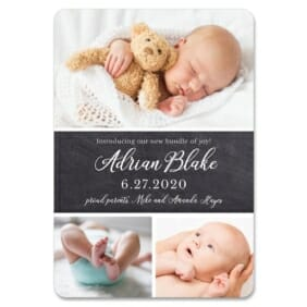 Union Square Baby 1 Save The Date Magnets